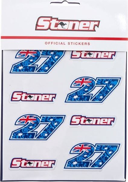 Picture of Casey Stoner stickers small 1754501