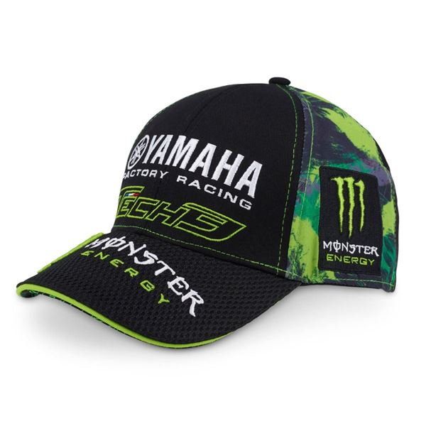 Tech 3 Monster Energy Yamaha basebal cap pet b33621aac0b