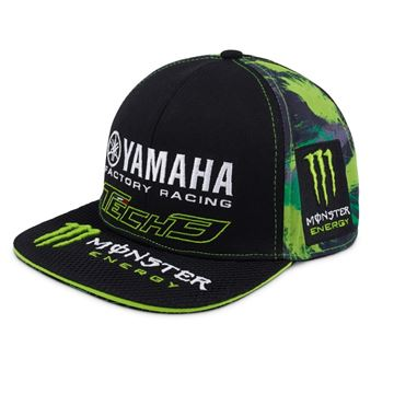 Afbeelding van Tech 3 Monster Energy Yamaha baseball flat cap pet