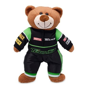 Afbeelding van Tech 3 Yamaha racing teddy bear teddybeer beer