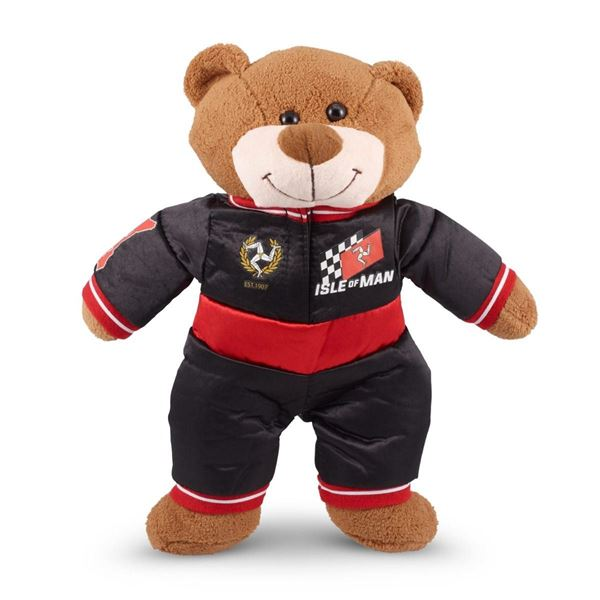 Picture of Isle of Man racing teddy bear teddybeer beer