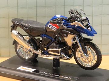 Picture of BMW R1200GS  blue R1200 GS 1:18 maisto