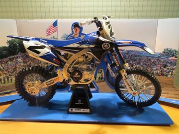 Picture of Cooper Webb Yamaha Monster YZ450F 2018 1:6
