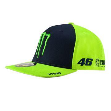 Afbeelding van Valentino Rossi mid visor sponsor cap pet MOMCA344628