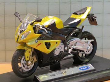 Picture of BMW S1000RR acid green 1:18 19660 Welly