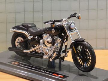 Picture of Harley Davidson FXSB Breakout 1:18 black (n49)