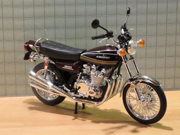 Picture of Kawasaki Z900 1:12 ( Z1 ) brown/gold