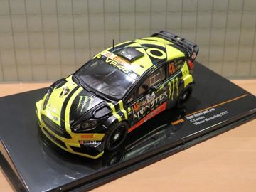 Picture of Valentino Rossi Ford Fiesta RS WRC Winner Monza Rally 2017 1:43 RAM658