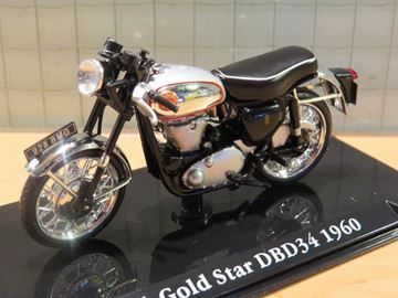 Picture of BSA Gold Star DBD34 1:24 Atlas