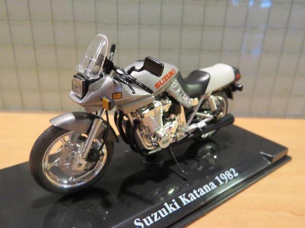 Picture of Suzuki Katana 1982 GSX750 GSX1100 1:24 Atlas