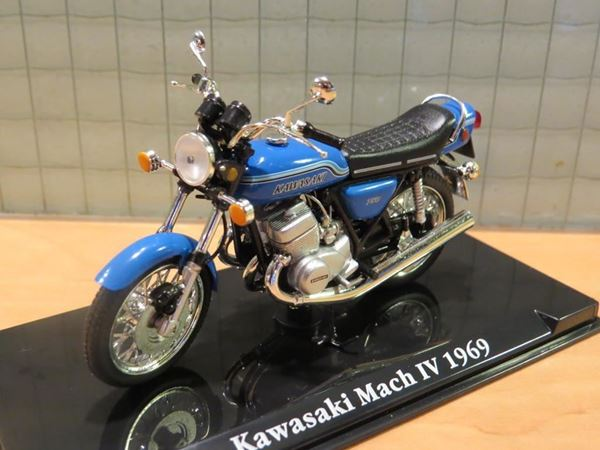 Picture of Kawasaki 750 Mach IV 1969 1:24 Atlas