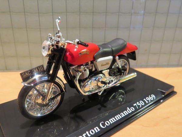 Picture of Norton Commando 1969 1:24 Atlas