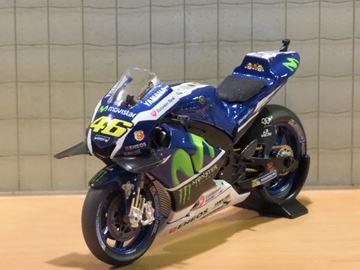 Picture of Valentino Rossi Yamaha YZR-M1 2016 winner Catalunya 1:18 182163246
