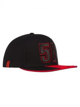 Picture of Marco Simoncelli flat cap pet 58 , 1845004
