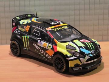 Picture of Valentino Rossi Ford Fiesta RS WRC Winner Monza Rally 2012 1:18 ,18RMC016