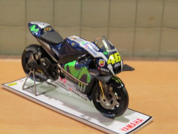 Picture of Valentino Rossi Yamaha YZR-M1 2016 winner Catalunya 1:43 Spark