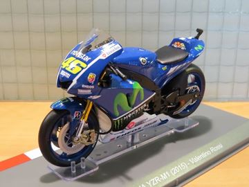 Picture of Valentino Rossi Movistar Yamaha YZR-M1 2015 1:18