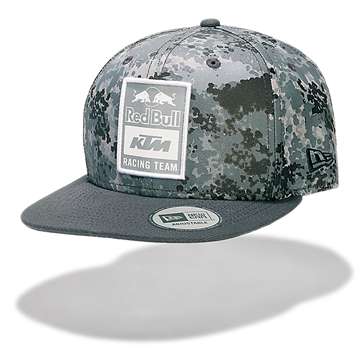Afbeelding van KTM New Era Red Bull grey camo flat cap pet KTM18038