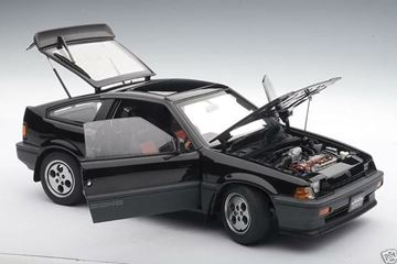Picture of Honda Ballade Sports CRX Si Black 1:18 AutoArt