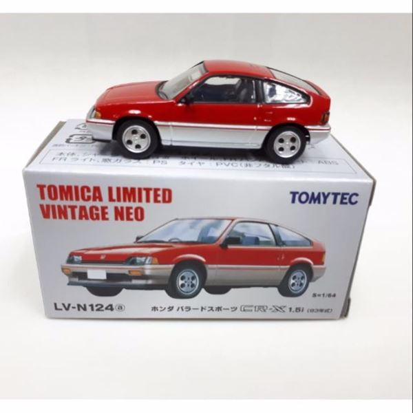 Picture of Honda Ballade Sports CRX Si red 1:64 Tomica