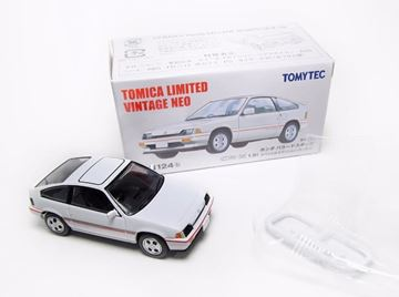 Picture of Honda Ballade Sports CRX Si white 1:64 Tomica