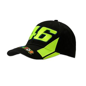 Picture of Valentino Rossi 46 the doctor black cap pet VRMCA351204