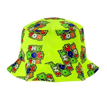 Picture of Valentino Rossi all over the doctor fisherman bucket hat VRMFH351703