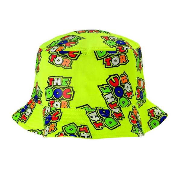 05987b4a86b Valentino Rossi all over the doctor fisherman bucket hat VRMFH351703