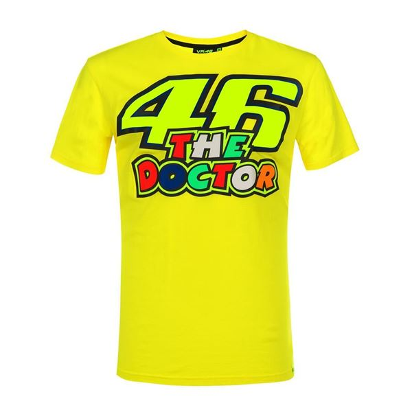Picture of Valentino Rossi 46 The Doctor t-shirt VRMTS351501