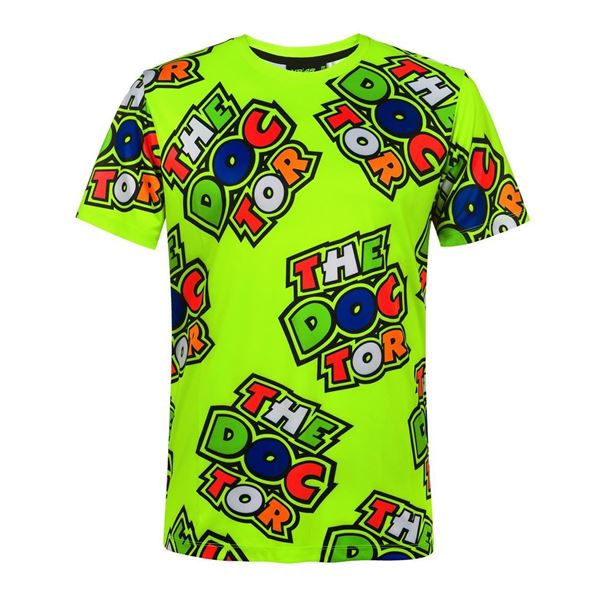Picture of Valentino Rossi all over the doctor t-shirt VRMTS351803