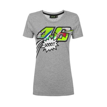 Picture of Valentino Rossi woman pop art t-shirt VRWTS352205