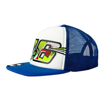 Afbeelding van Valentino Rossi pop art kid flat cap pet VRKCA353703