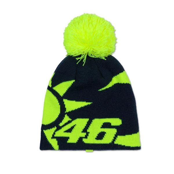 Picture of Valentino Rossi sun and moon helmet replica kid Beanie muts VRKBE352902