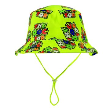 Afbeelding van Valentino Rossi baby all over the doctor bucket hat VRKFH354003
