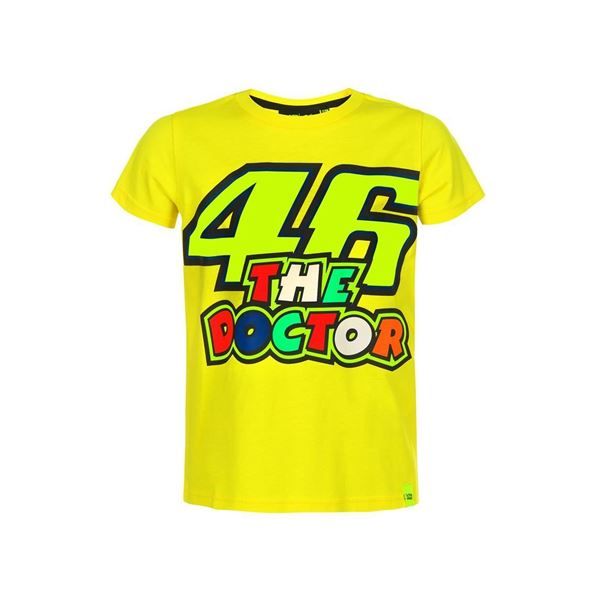 Picture of Valentino Rossi 46 the doctor kid t-shirt VRKTS353401