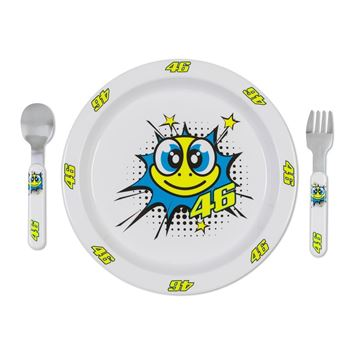 Afbeelding van Valentino Rossi pop art meal set VRUSM354506