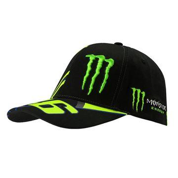 Picture of Valentino Rossi Monster 46 replica cap pet MOMCA358504