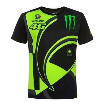 Afbeelding van Valentino Rossi Monster 46 replica t-shirt MOMTS358304