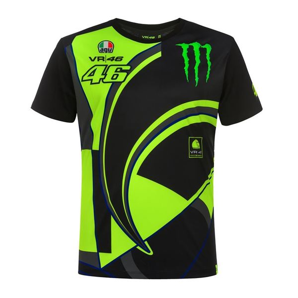 Picture of Valentino Rossi Monster 46 replica t-shirt MOMTS358304