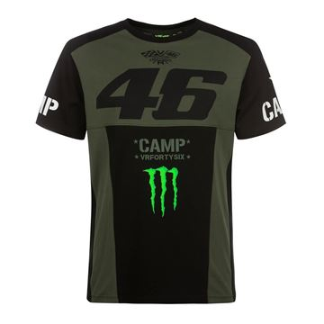 Picture of Valentino Rossi 46 monster Camp t-shirt MOMTS359808