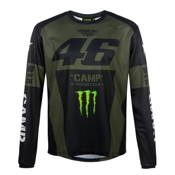 Picture of Valentino Rossi 46 monster Camp long sleeve MOMTS359908