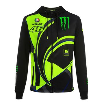 Afbeelding van Valentino Rossi Monster energy replica hoodie MOMFL358404
