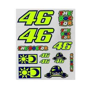 Picture of Valentino Rossi large stickers VRUST356803