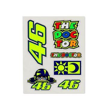 Afbeelding van Valentino Rossi small stickers VRUST356703