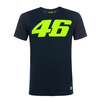 Picture of Valentino Rossi Core large 46 t-shirt blue COMTS325002NF