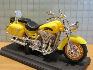 Picture of Indian 1:18 Haixing yellow