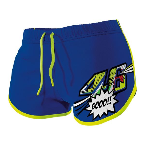 Picture of Valentino Rossi woman pop art shorts pants VRWSP371716