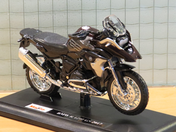 Picture of BMW R1200GS  R1200 GS Ebenholz 1:18 maisto