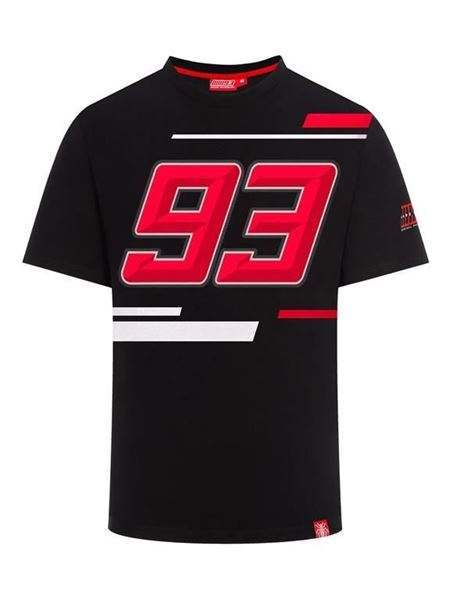 Picture of Marc Marquez #93 T-shirt black 1933003