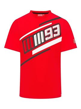 Picture of Marc Marquez #93 T-shirt red 1933007